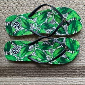Shoes - Authentic Tory Burch flip flops.